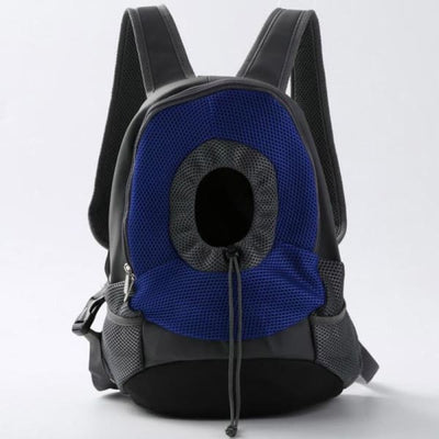 $39.95 - SMALL ANIMAL CARRIER BACKPACK - FOR CATS DOGS & SMALL ANIMALS BLUE 1KG (8) TRAVEL PETS