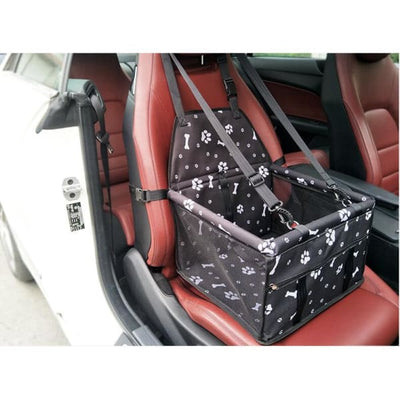 $59.95 - PET CAR SEAT BOOSTER FOR DOGS CATS & SMALL ANIMALS (15) TRAVEL PETS