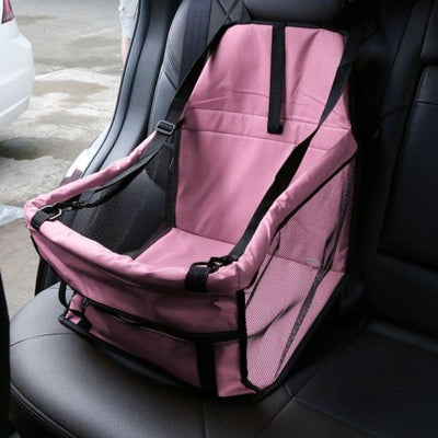 $59.95 - PET CAR SEAT BOOSTER FOR DOGS CATS & SMALL ANIMALS (2) TRAVEL PETS