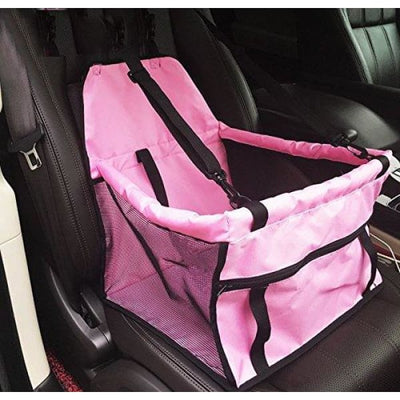 $59.95 - PET CAR SEAT BOOSTER FOR DOGS CATS & SMALL ANIMALS (5) TRAVEL PETS