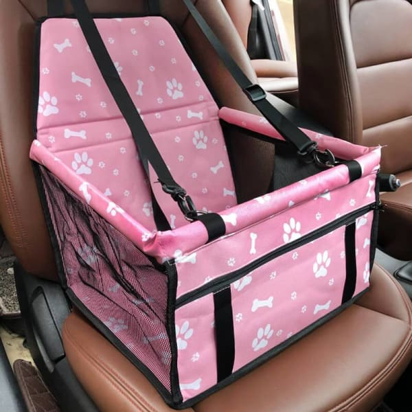 Pet Car Seat Booster For Dogs, Cats & Small Animals