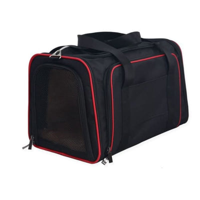 $57.50 - SMALL EXPANDABLE CAT/DOG/PET CARRIER SHOULDER BAG (6) TRAVEL PETS