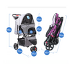 $159.00 - BELLO PET PRAM/STROLLER FOR SMALL CATS & DOGS (4) TRAVEL PETS