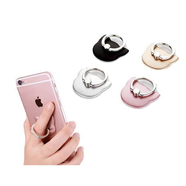360° Cat Finger Ring Holder Mount Stand For iPhone/Smart Phone
