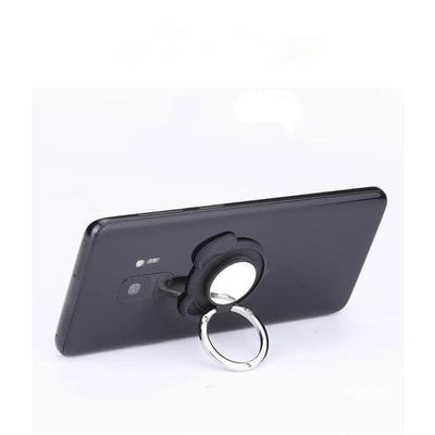 $12.95 - 360° MAGNETIC DOG FINGER RING HOLDER MOUNT STAND FOR IPHONE/SMARTPHONE (8) TRAVEL PETS