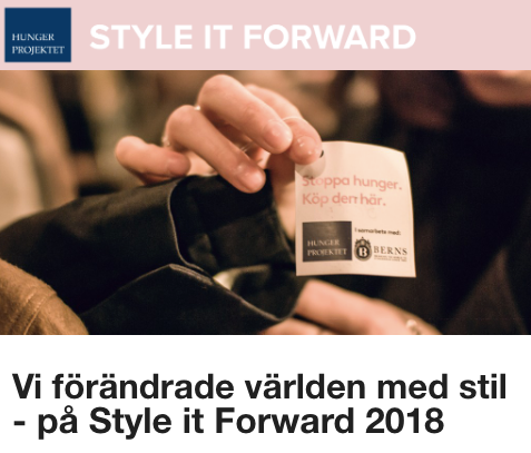 STYLE IT FORWARD