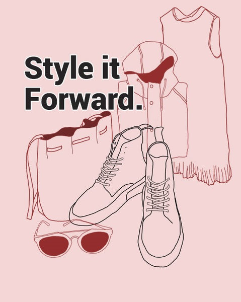 STYLE IT FORWARD – POP UP SHOP DEC 1
