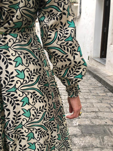 RANA WRAP DRESS