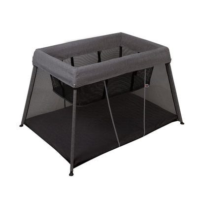 Bebecare In & Out Travel Cot Black/Silver - Portacot