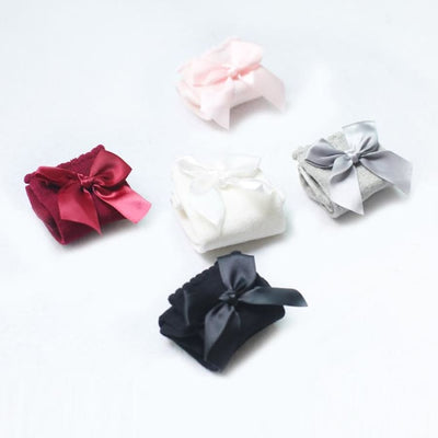 Bow Princess Knee High Socks - Socks Socks