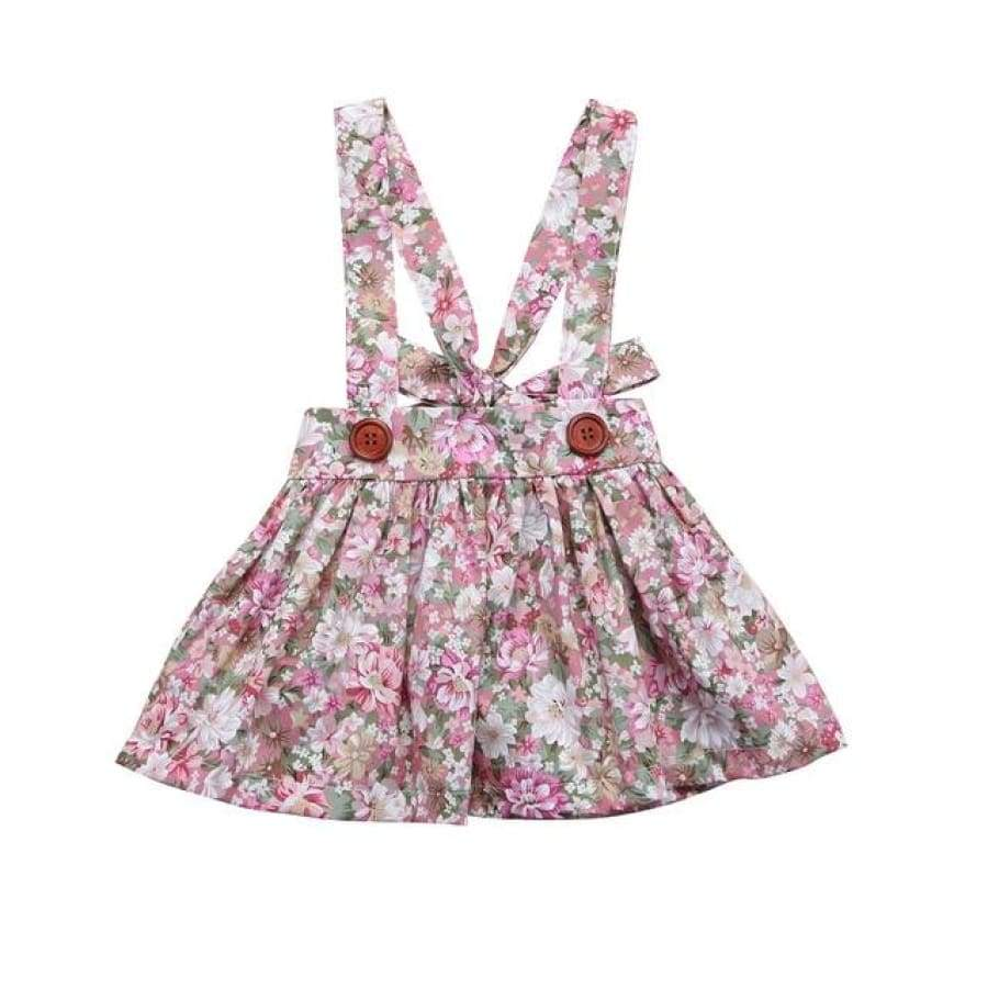 Brianna Floral Pinafore - Multi / 0-6 Months - Dresses Dress