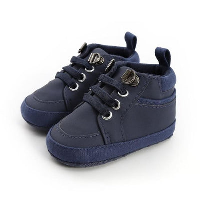 Caleb Lace Up Boot Pre-Walker - Blue / 0-6 Months - Shoes shoes