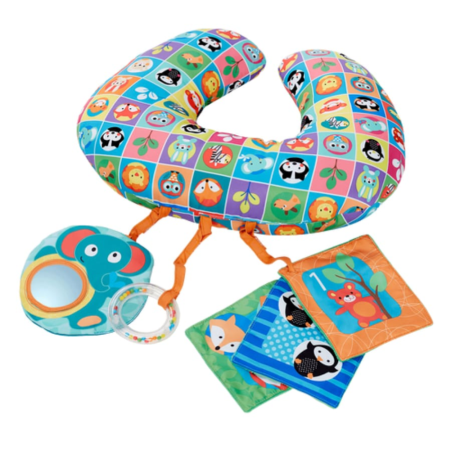 Chicco Animal Tummy Time Boppy Pillow - Toys chicco toys