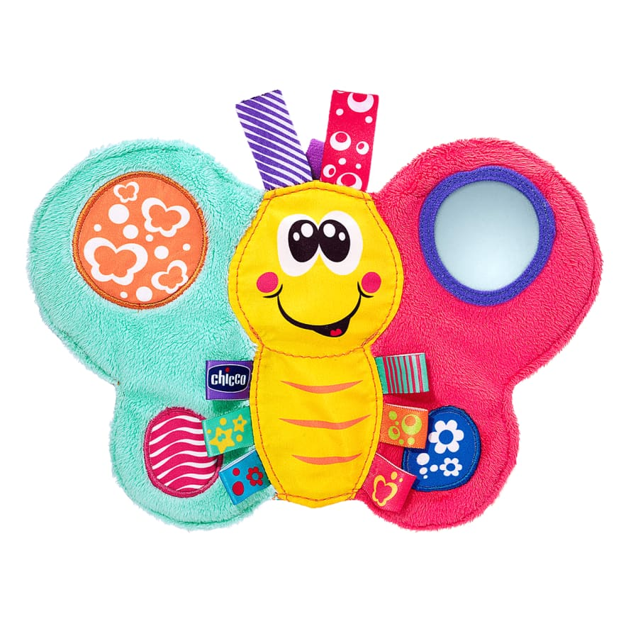 Chicco Daisy Butterfly Textile Rattle - Rattle toy