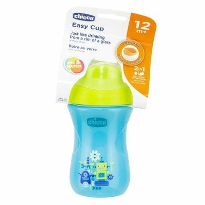Chicco Easy Cup Boy 12m+ 266ml - Drink Bottle chicco drink cups insulated weaning