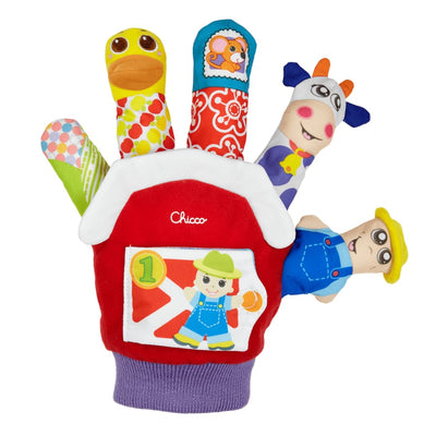 Chicco Farmyard Finger Puppet - Toys chicco toys