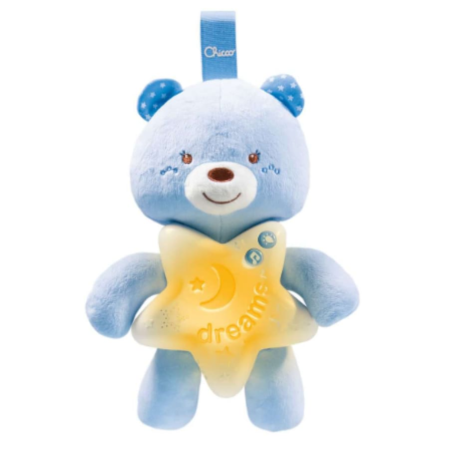 Chicco Goodnight Bear Blue - Toys bear boy chicco girl moon