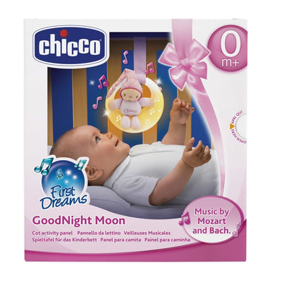 Chicco Goodnight Moon Pink - Toys boy chicco moon nightlight toy