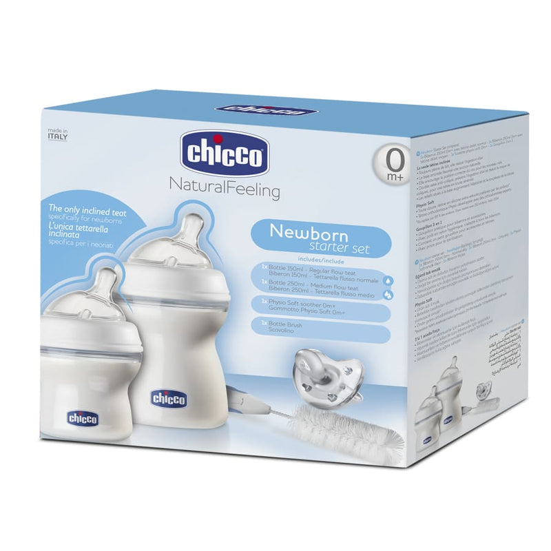 Chicco Newborn Bottle Starter Set - Bottle bottle chicco natural set starter