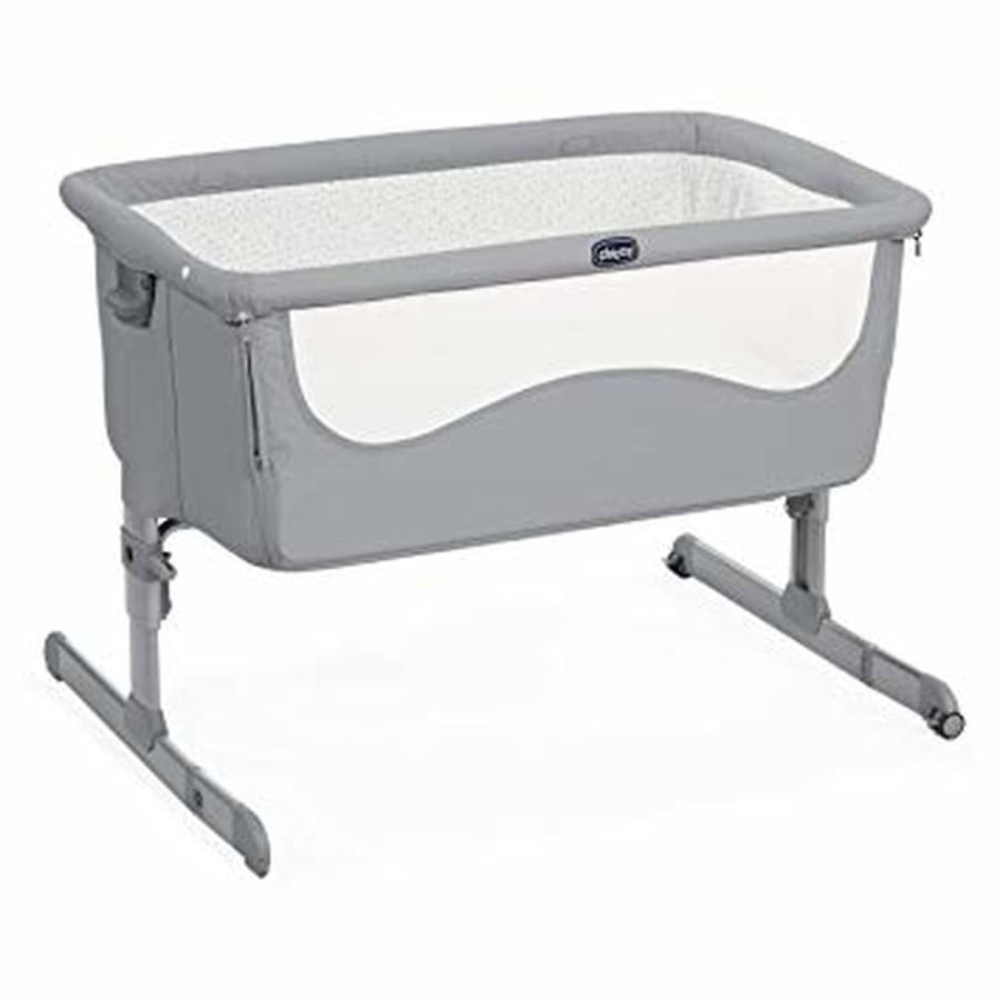Chicco Next 2 Me Crib - Pearl - Bassinet bassinet, chicco, co-sleeper, crib, next 2 me