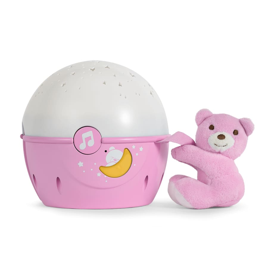 Chicco Next 2 Stars Projector Pink - Toys boy, chicco, moon, nightlight, toy