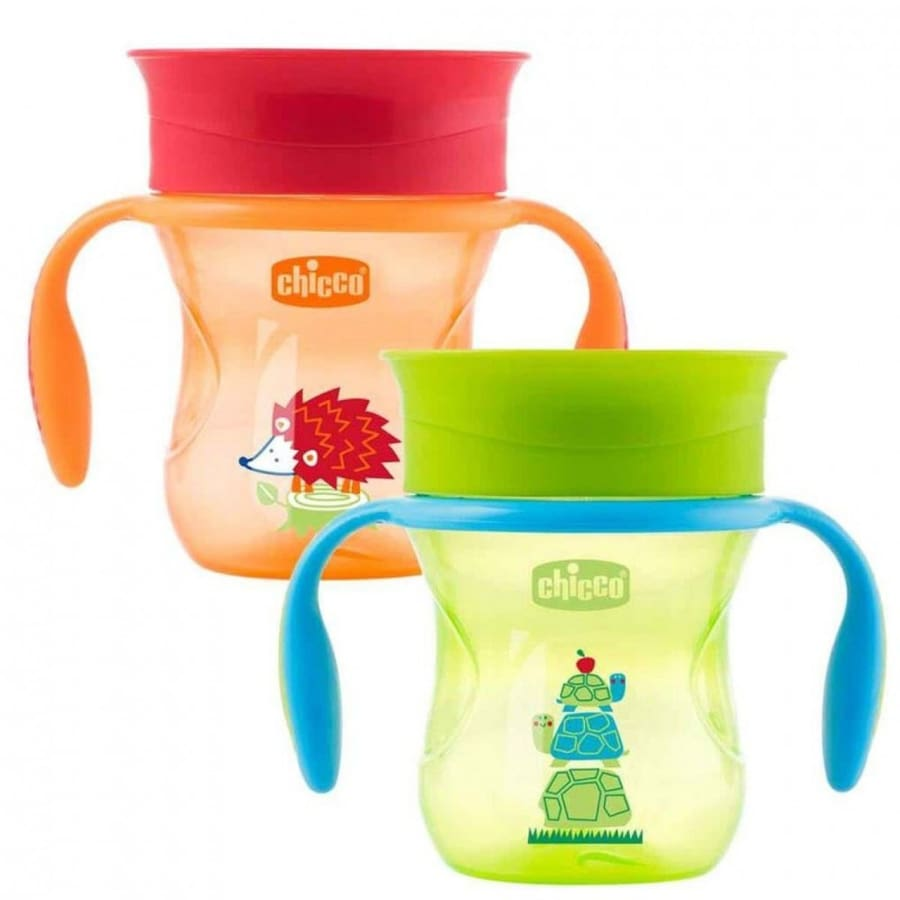 Chicco Perfect Cup 12 Months+ Neutral - 200ML - Drink Bottle chicco, drink cups, insulated, weaning