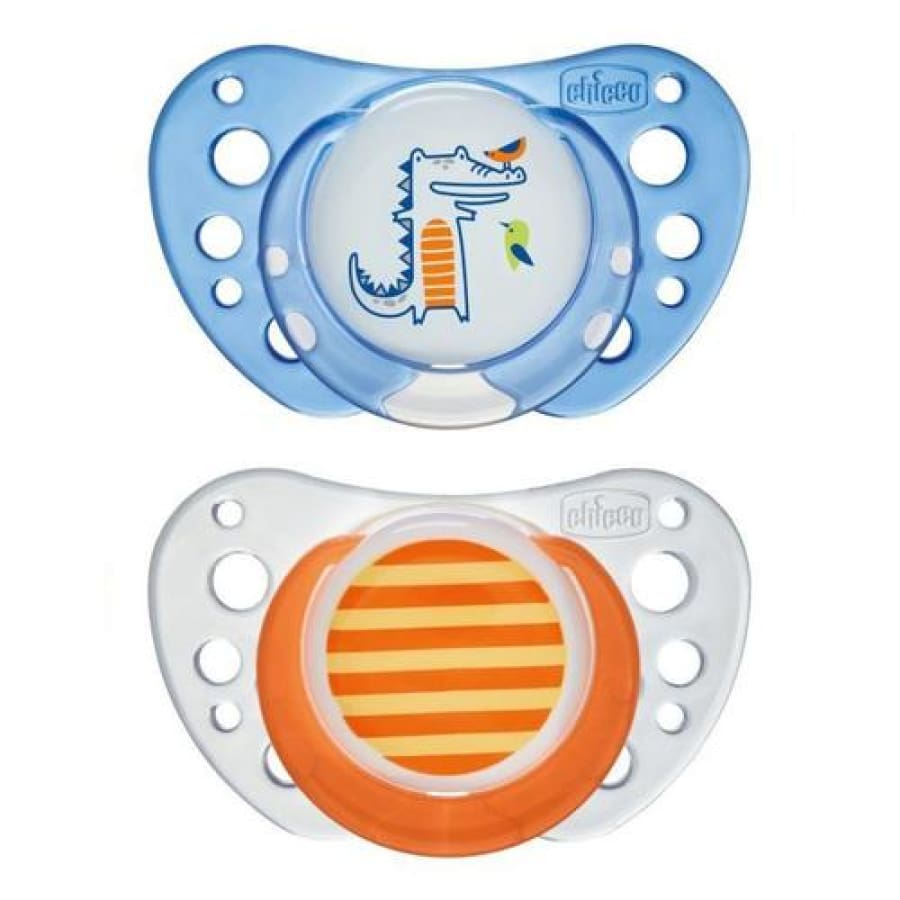 Chicco Physio Air Latex 6-16 Months - 2 Pack Boys - Dummy soother