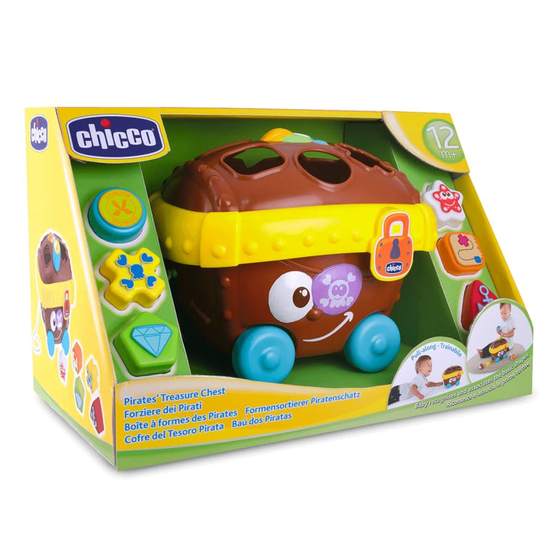 Chicco Pirates Treasure Chest - Shape Sorter - Toys chicco, toys