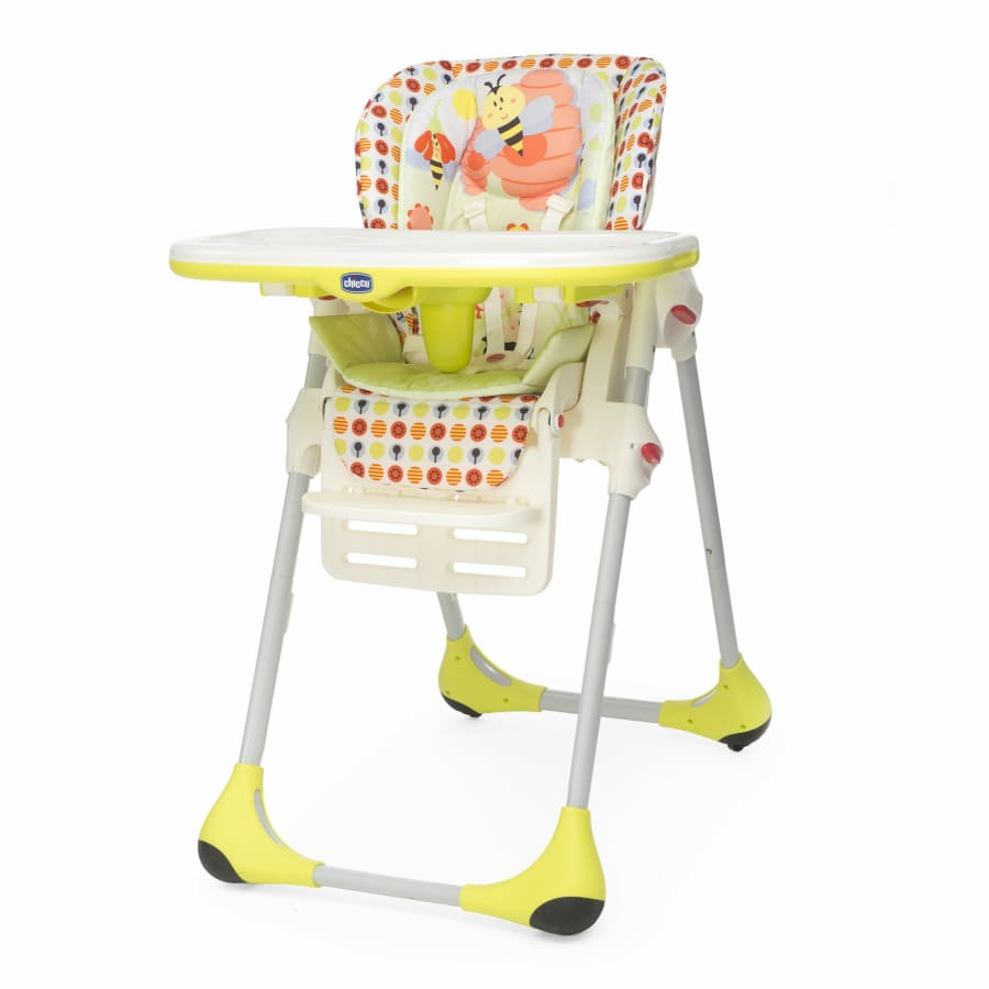 Chicco Polly Double Phase Sunny - Highchair chicco highchair meal pocket travel