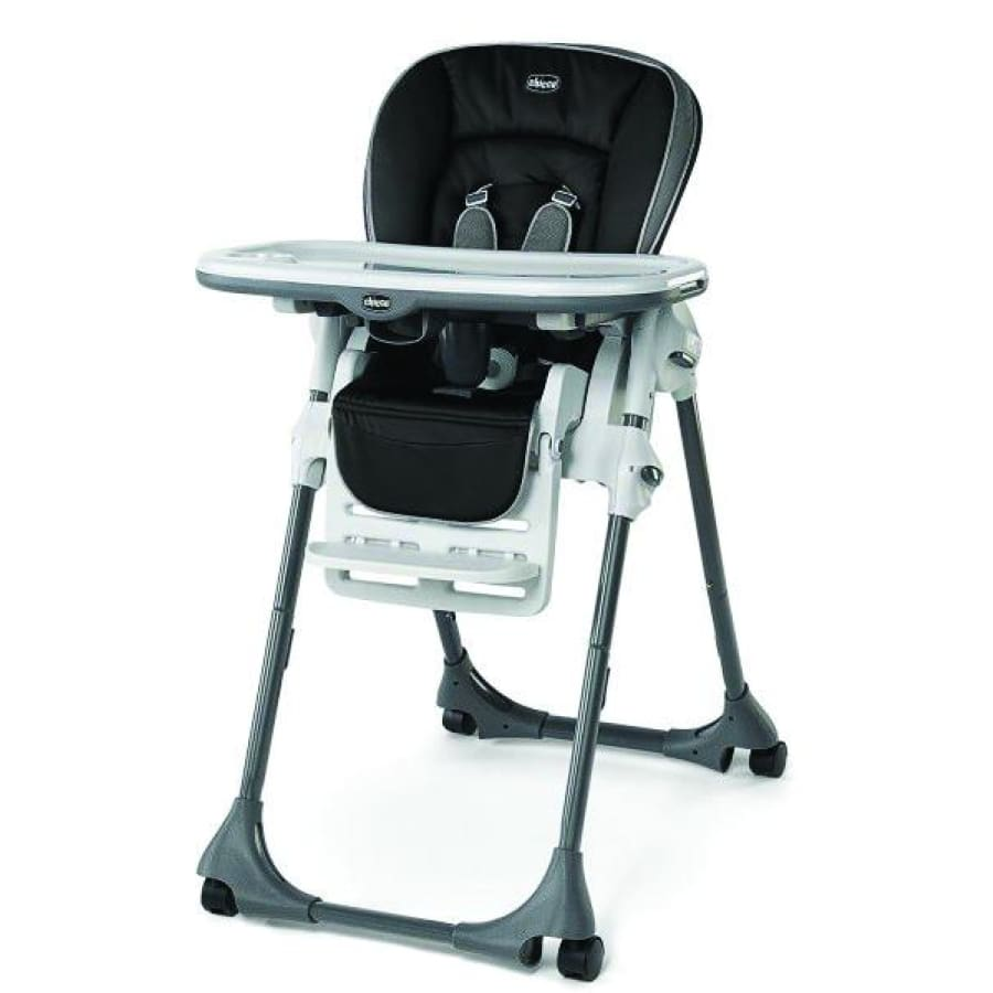 Chicco Polly High Chair Single Pad Orion - Highchair chicco highchair meal pocket travel