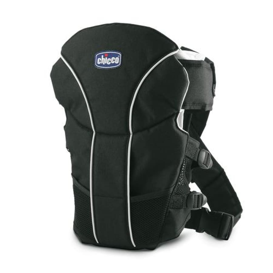 Chicco Ultrasoft Infant Carrier - Black - Carrier carrier chicco hands free newborn