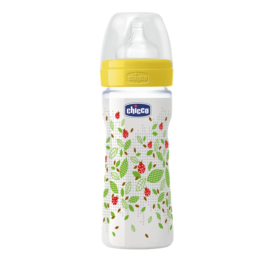 Chicco Well-Being Unisex 2m+ Medium Flow Bottle 250ml - Bottle bottle chicco unisex