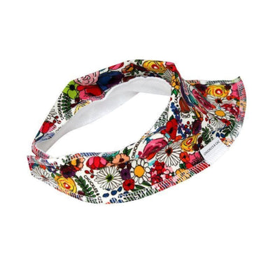 Chuckles & Caz Dribble Bib Super Floral - Wrap Bibs, wraps