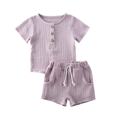 Coco T'Shirt Set - Lilac / 2-3 Years - Sets sets