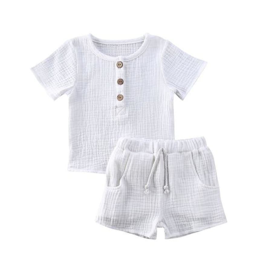 Coco T'Shirt Set - White / 2-3 Years - Sets sets