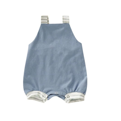 Henry Relaxed Fit Jumpsuit - Blue / 0-6 Months - Jumpsuit jumpsuit