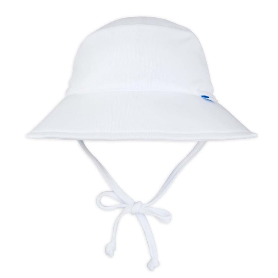iPlay Breathable Bucket Sun Protection Hat-White - 0-6 Months - Hat Hat