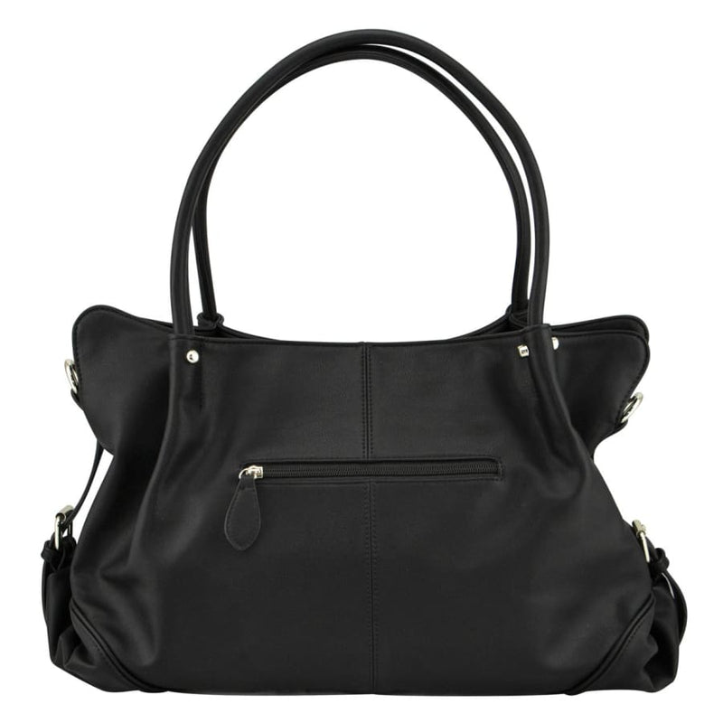 Isoki Anakie Satchel - Onyx - Nappy Bag isoki Nappy Bag satchel