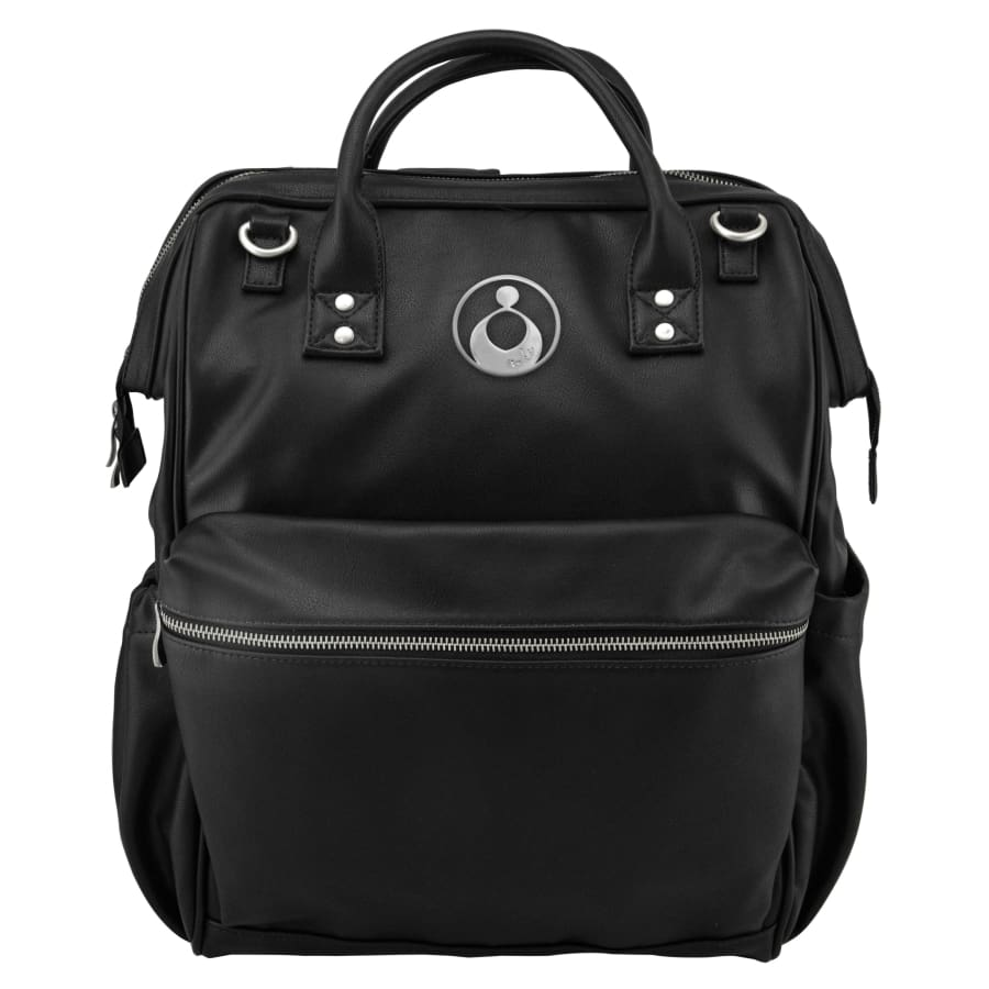 Isoki Byron Backpack - Onyx - Nappy Bag isoki, Nappy Bag