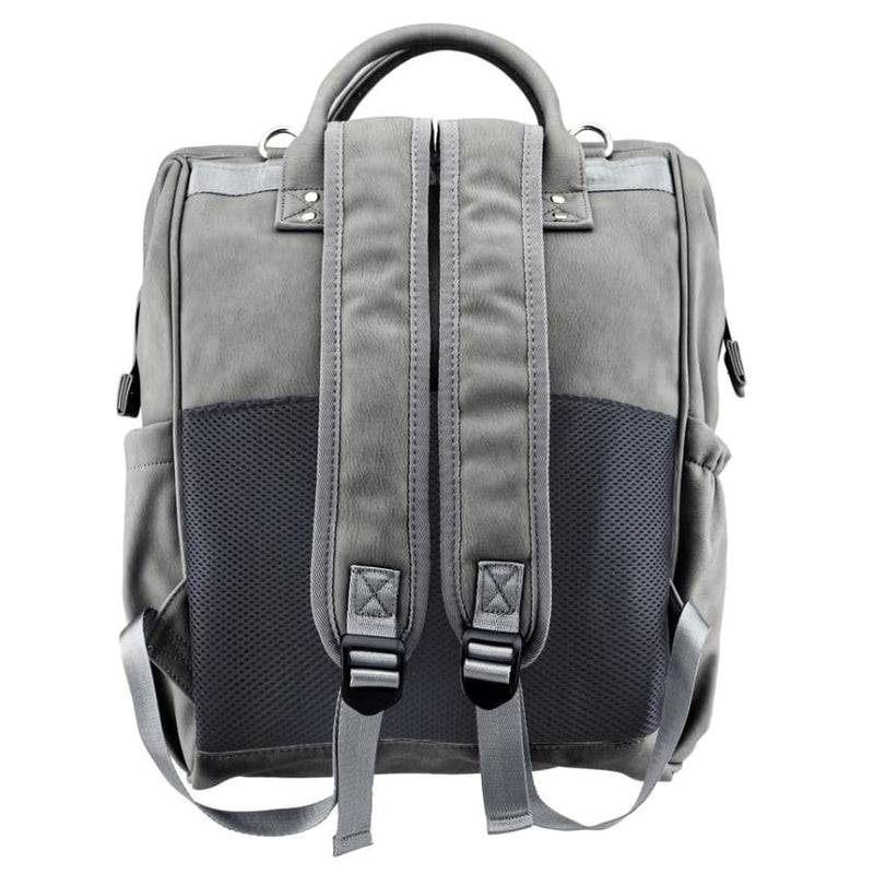 Isoki Byron Backpack - Stone - Nappy Bag isoki, Nappy Bag