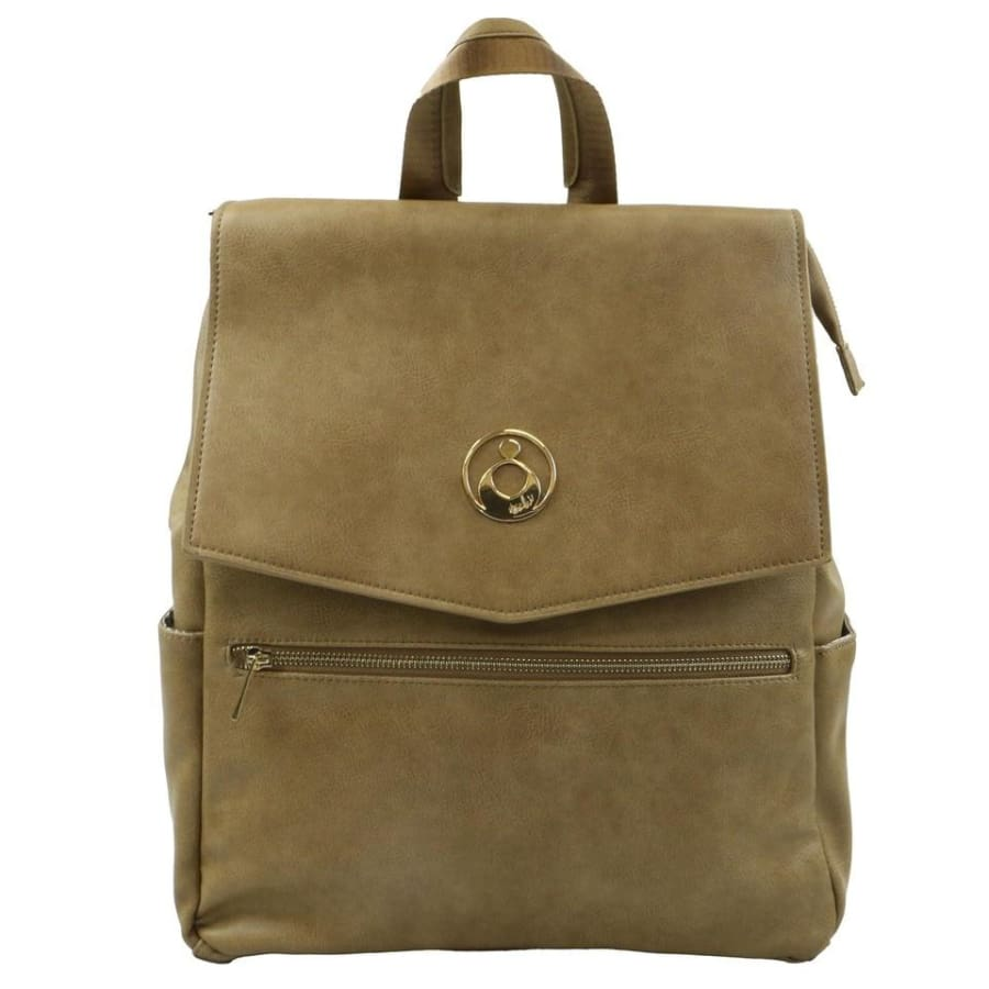 Isoki Hartley Backpack - Latte - Nappy Bag isoki, Nappy Bag