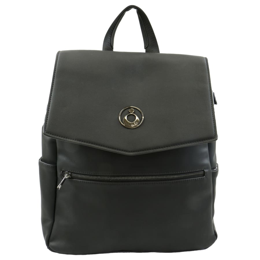 Isoki Hartley Backpack - Onyx - Nappy Bag isoki, Nappy Bag