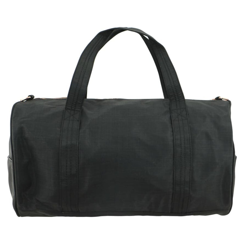 Isoki Kington Duffle Bag - Black Nylon - Nappy Bag duffle, isoki, nappy bag, redwood, vintage