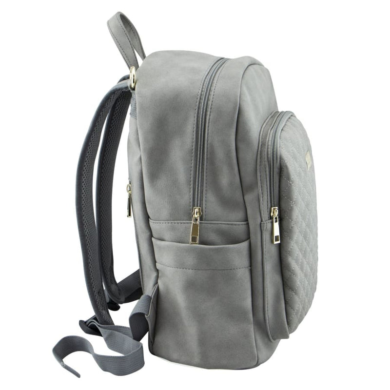 Isoki Marlo Backpack - Stone - Nappy Bag backpack ISOKI marlo stone