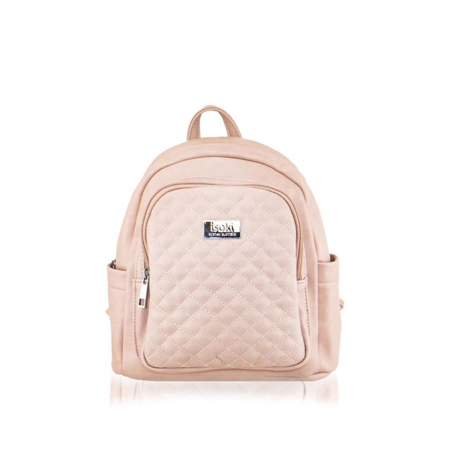 Isoki Marlo Mini Backpack - Mushroom - Nappy Bag backpack, ISOKI, marlo, mini, mummy