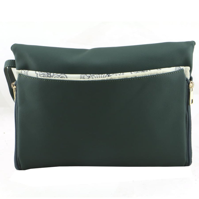 Isoki Windsor Change Mat Clutch - Forest - Nappy Bag isoki, Nappy Bag