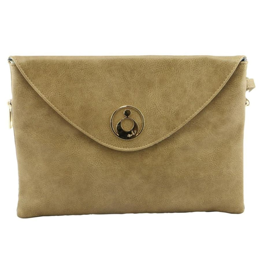 Isoki Windsor Change Mat Clutch - Latte - Nappy Bag isoki, Nappy Bag
