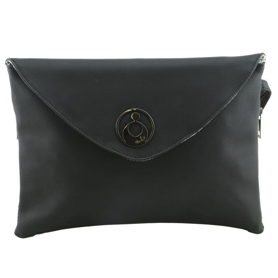 Isoki Windsor Change Mat Clutch - Onyx - Nappy Bag isoki, Nappy Bag