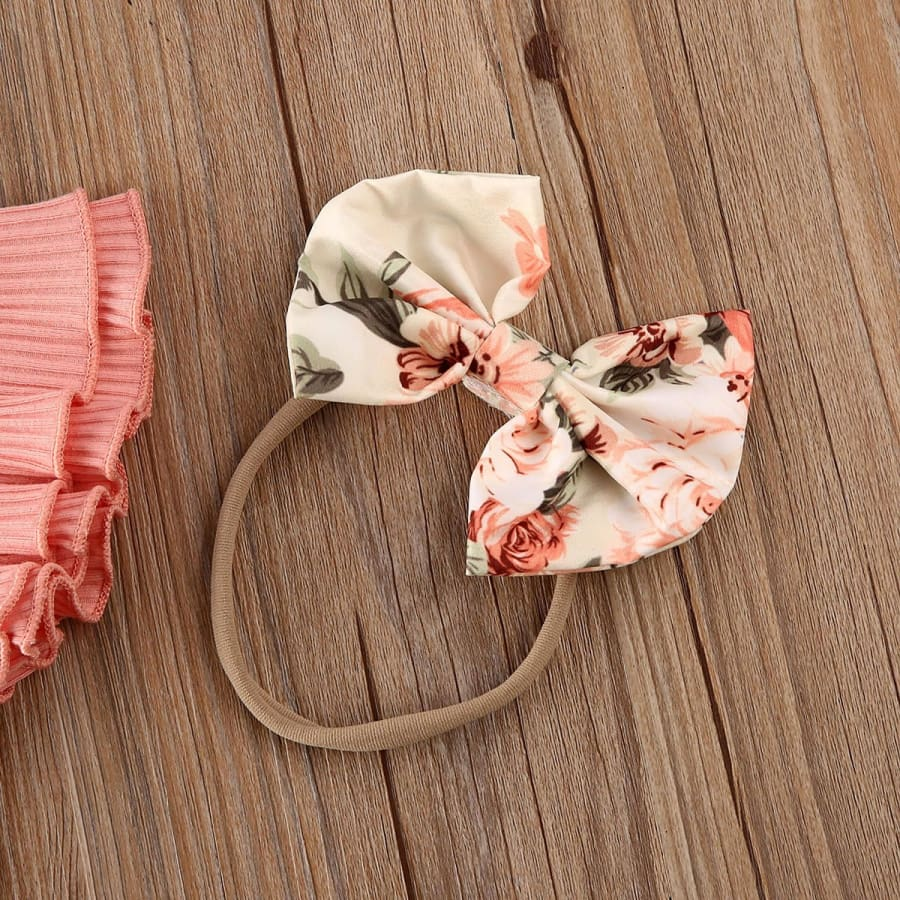 Issy Peach Bloomer Set - Sets bloomer sets