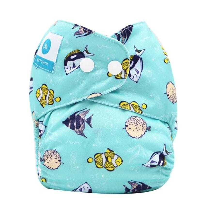 itti Bitti Reusable Swim Nappy - Bubbles - Small - Cloth Nappies cloth nappy